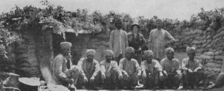 lndian Mountain battery Gallipoli