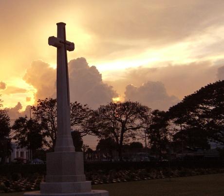 Sunset Kan'buri cemetery Rod 2008